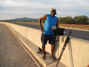 While we were at Jackson Dam we ran into Dixon from San Diego -- Terry introduced himself when he saw that Dixon was using a Hasselblad -- with real film. The two of them happily talked cameras until the sunset sent them both running to set up their tripods.